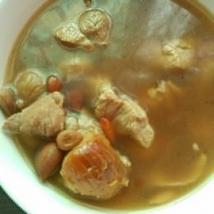 无花果南北杏瘦肉汤