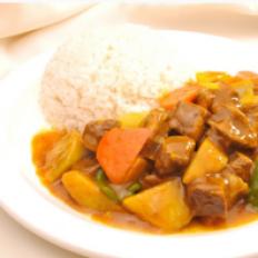 咖喱萝卜牛肉