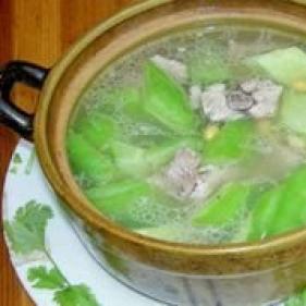 黑鱼苦瓜汤